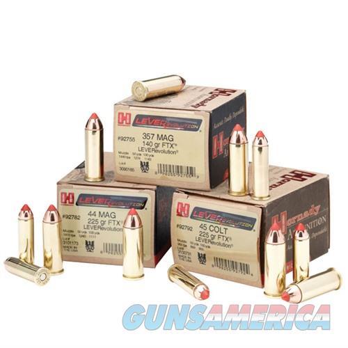 Hornady LEVERevolution 44 Mag 225gr FTX 20/bx  Non-Guns > Ammunition