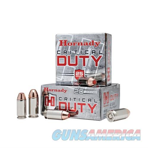 Hornady Critical Duty 45 Auto +P 220gr FlexLock 20/bx  Non-Guns > Ammunition