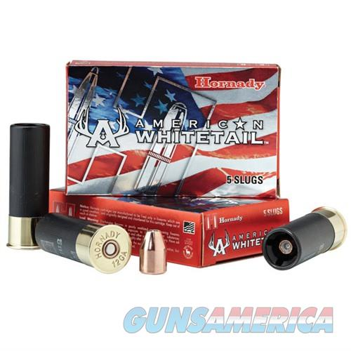Hornady American Whitetail 12 Ga 325gr Interlock Slug 5/bx  Non-Guns > Ammunition