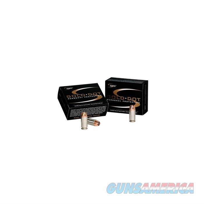 Speer Ammo 9+P 124gr HP 20/Box Gold Dot  Non-Guns > Ammunition