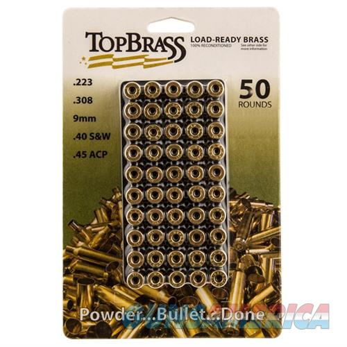 Top Brass .308 Win w/ Tray 50Ct  Non-Guns > Reloading > Components > Brass