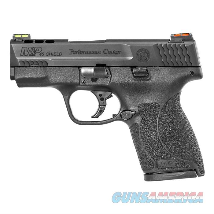 S&W M&P 45ACP Shield Ported Night Sights No TmbSfty 3.3'' Bbl 7Rd  Guns > Pistols > A Misc Pistols