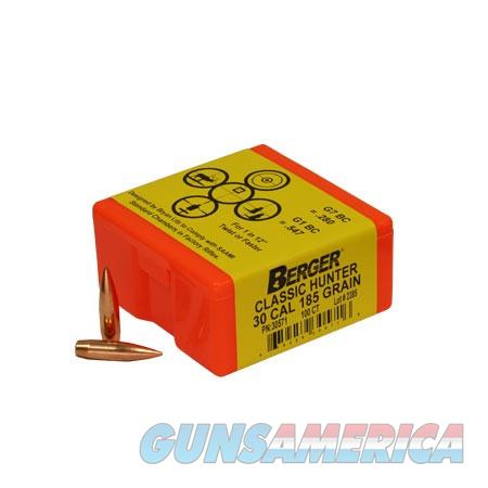 Berger Match Grade Classic Hunter 30 Cal 185gr 100/bx  Non-Guns > Reloading > Components > Bullets