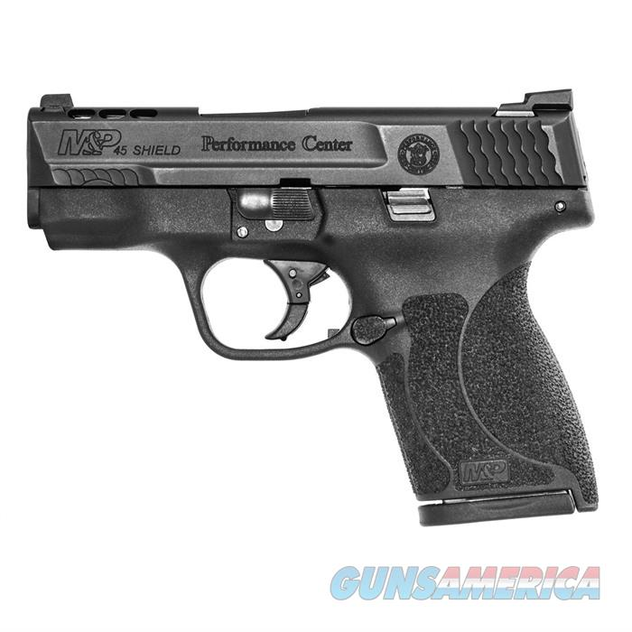 S&W M&P 45ACP Shield Ported Night Sts No TmbSfty 3.3''Bbl 7rd  Guns > Pistols > Smith & Wesson Pistols - Autos > Shield