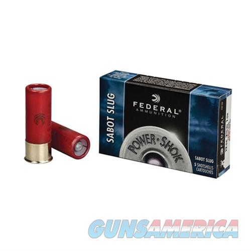 FEDERAL POWER SHOK SABOT 12 GAUGE 2.75 1OZ SLUG 5/BX (5 ROUNDS PE  Non-Guns > AirSoft > Ammo