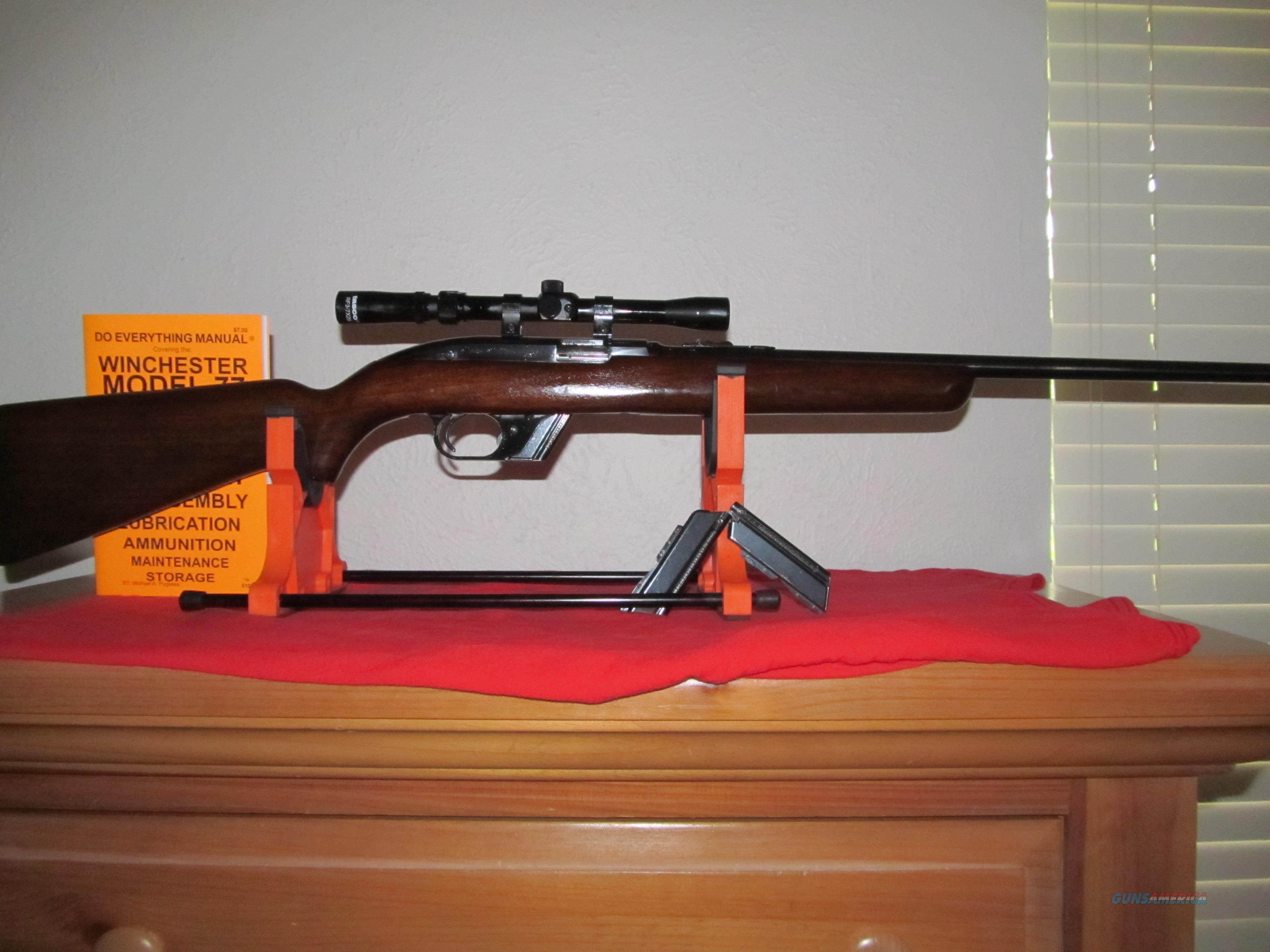 1959 Winchester Model 77- 22LR caliber. 98%   Guns > Rifles > Winchester Rifles - Modern Bolt/Auto/Single > Autoloaders
