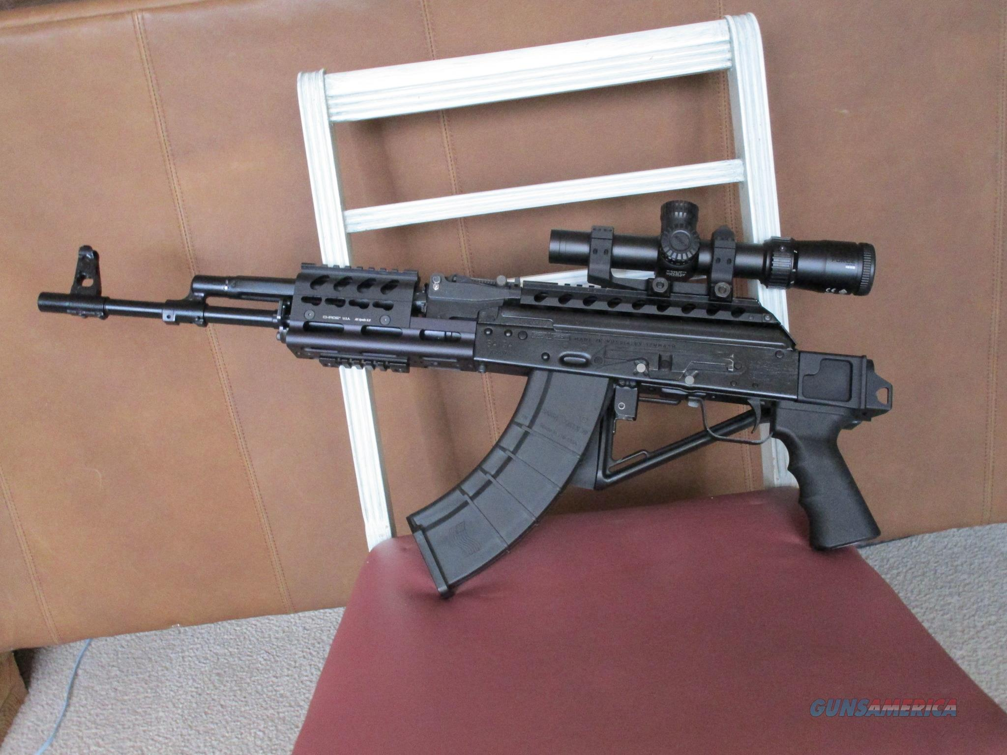 Unfired Saiga 7.62x39 made in 03/2014 Folding stock and other  furniture mods only  Guns > Rifles > Saiga Rifles