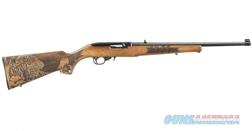 Ruger 10/22 22LR Semi-Automatic Tiger Talo Edition  Guns > Rifles > Ruger Rifles > 10-22