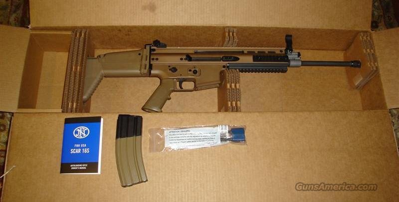FN SCAR-L NIB In Stock 5.56  Guns > Rifles > FNH - Fabrique Nationale (FN) Rifles > Semi-auto > Other