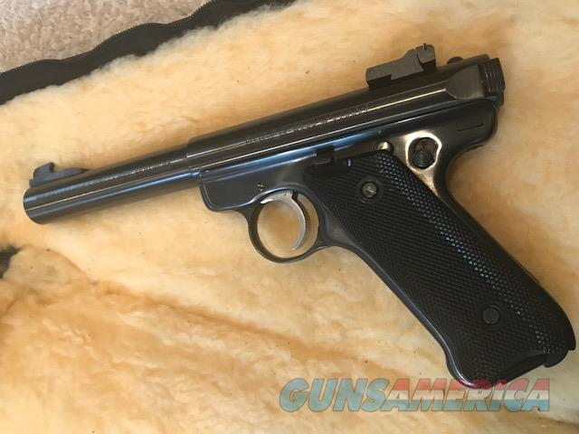 Ruger Mark 11  Target Pistol in MINT Condition - barely used   Guns > Pistols > American Arms Pistols
