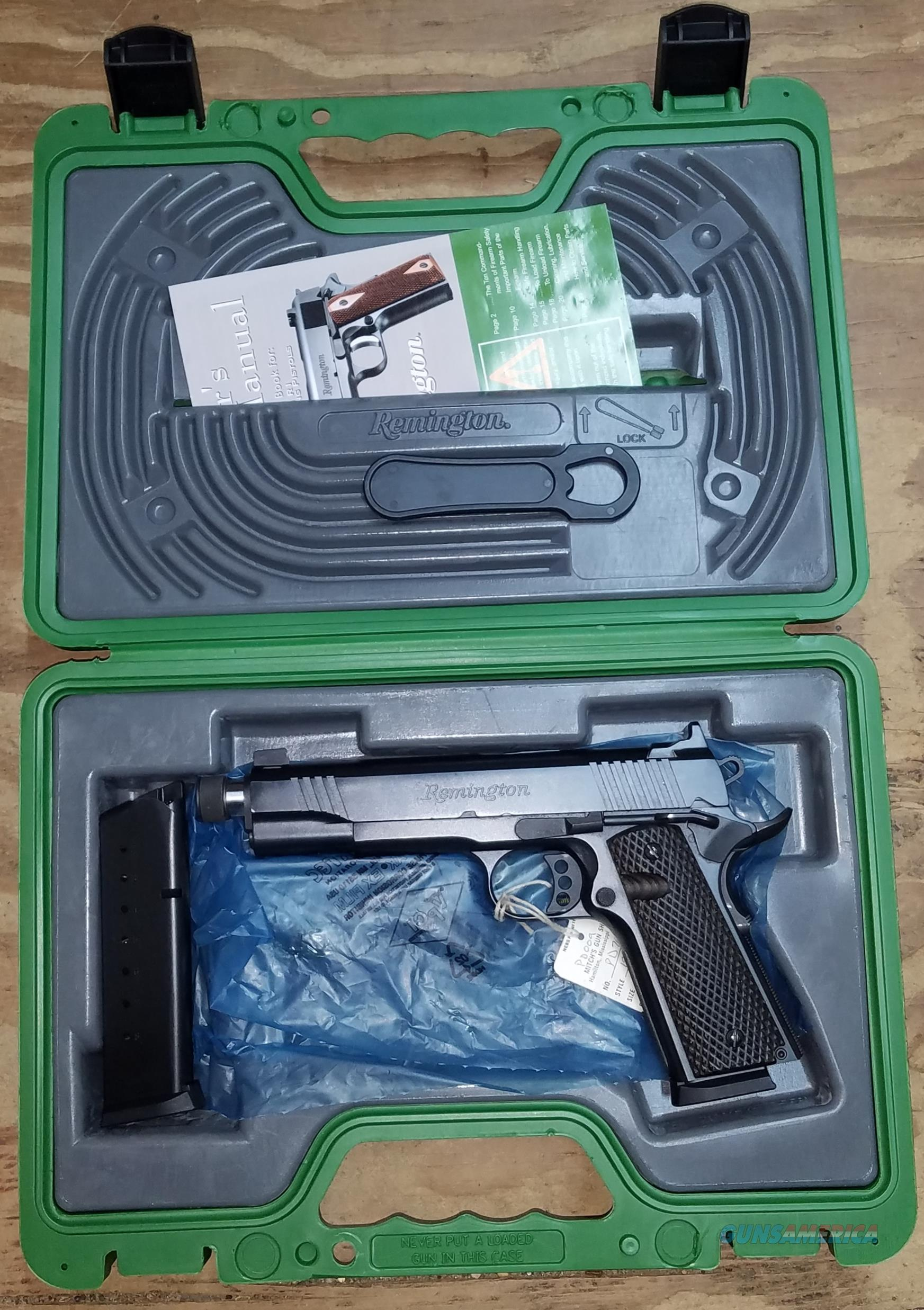 Remington 1911 R1 Enhanced Black .45 ACP 96339  Guns > Pistols > Remington Pistols - Modern > 1911