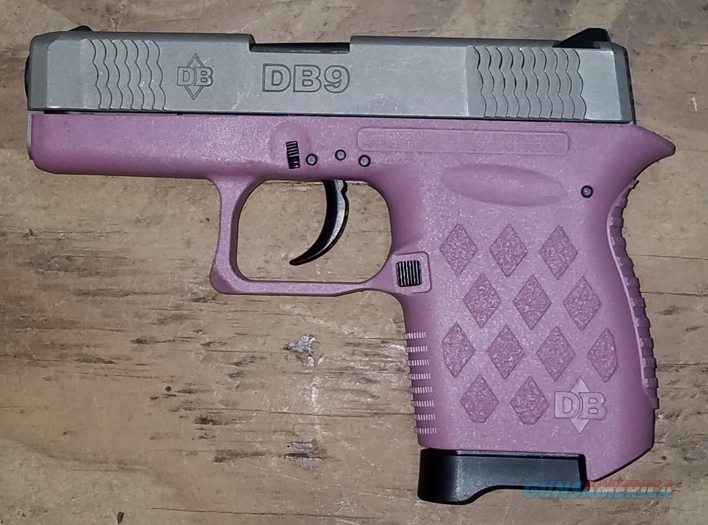 Diamondback DB9HPEX DB9 DAO 9mm Pink Poly   Guns > Pistols > Diamondback Pistols