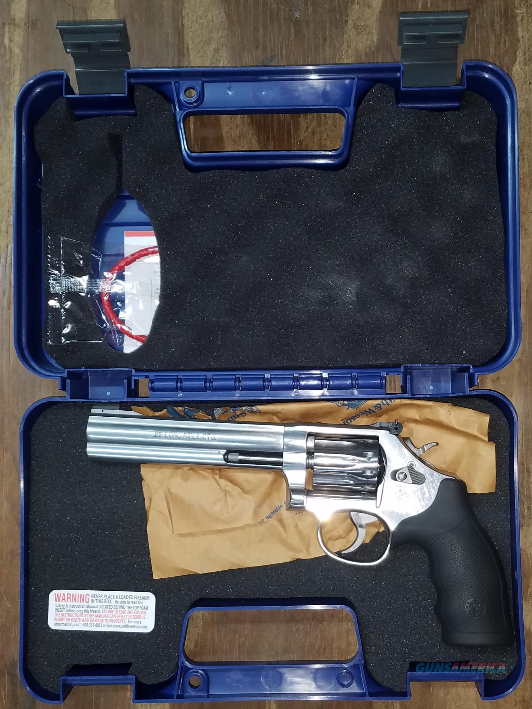 Smith & Wesson Model 617 Revolver 160578 .22 LR  Guns > Pistols > Smith & Wesson Revolvers > Med. Frame ( K/L )