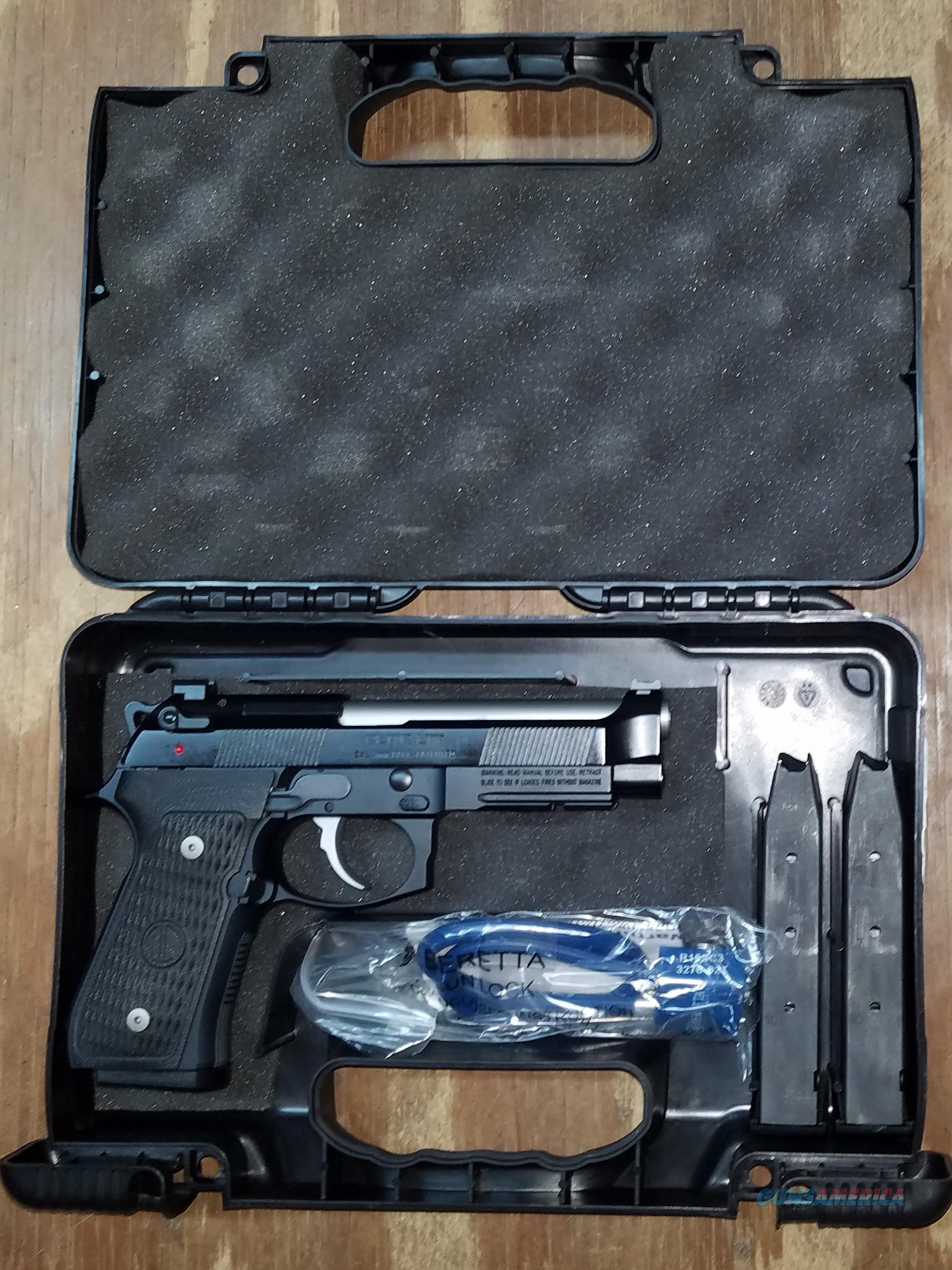 Beretta 92G J92G9LTT Elite LTT 9mm Luger Pistol  Guns > Pistols > Beretta Pistols > Model 92 Series