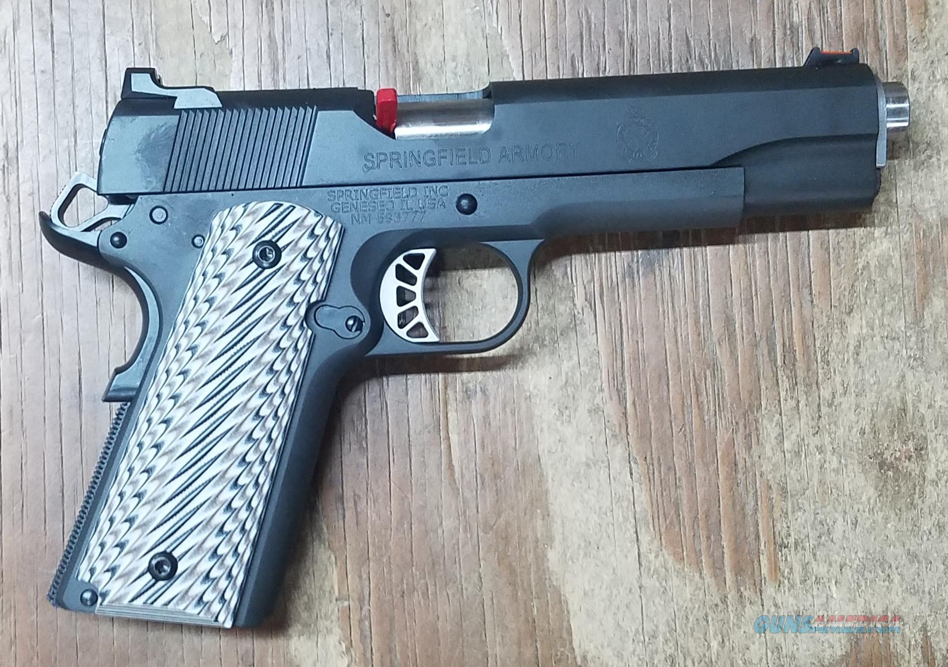 Springfield Armory Custom Parkerized 45 ACP   Guns > Pistols > Springfield Armory Pistols > 1911 Type