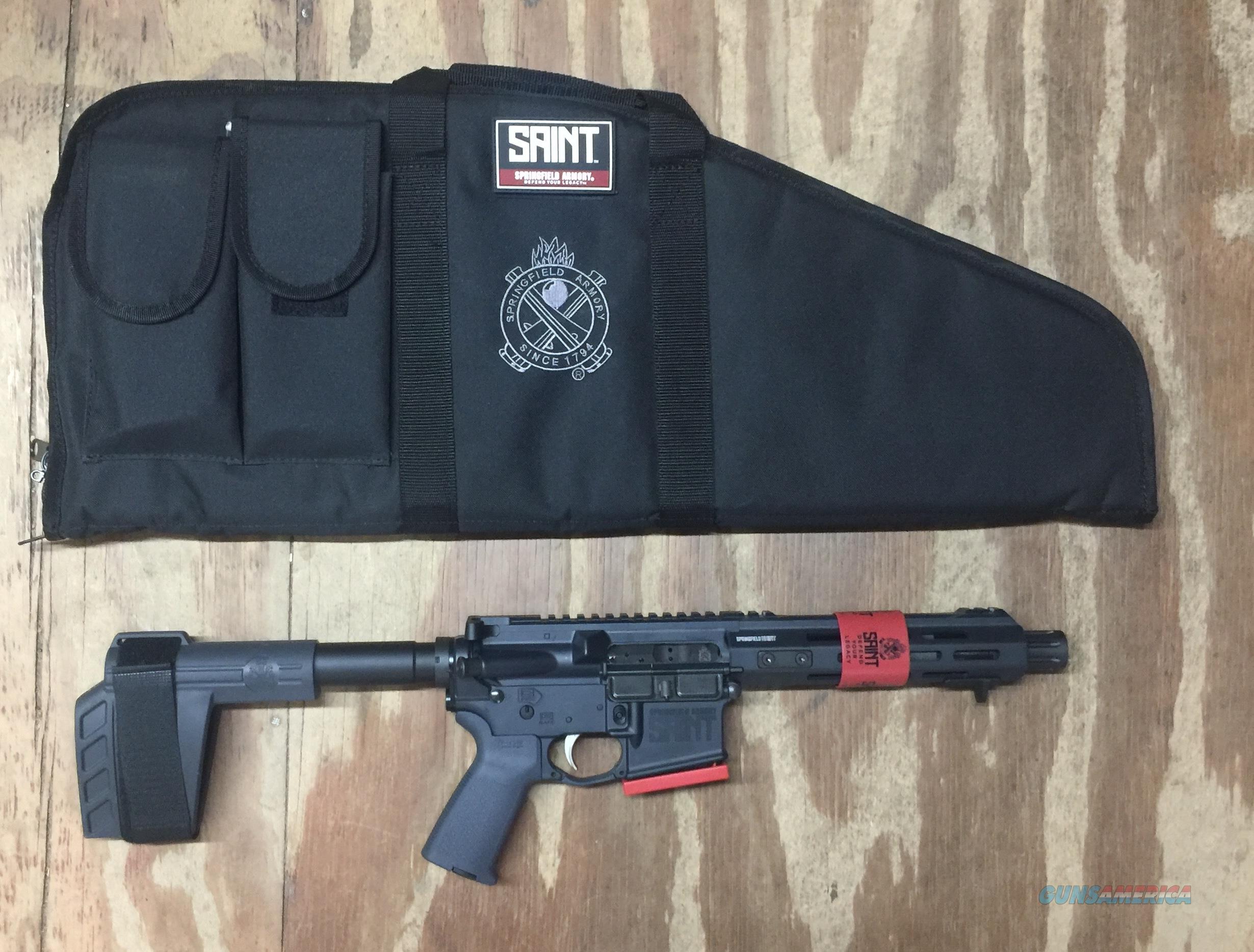 Springfield Armory ST975556GRY SAINT Pistol 5.56 x 45 mm NATO  Guns > Pistols > Springfield Armory Pistols > SAINT Pistol