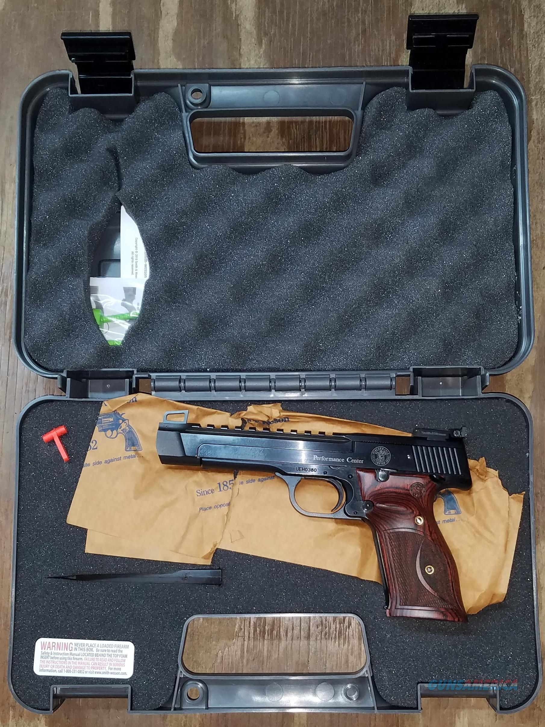 Smith & Wesson Performance center M41 22 LR 178031  Guns > Pistols > Smith & Wesson Pistols - Autos > .22 Autos