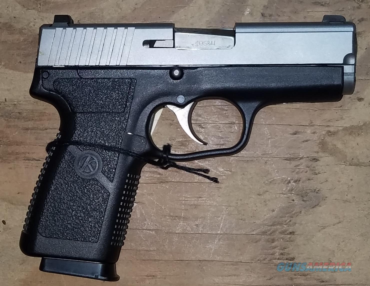 Kahr Arms KP4043NA P40 Pistol .40 S&W  Guns > Pistols > Kahr Pistols