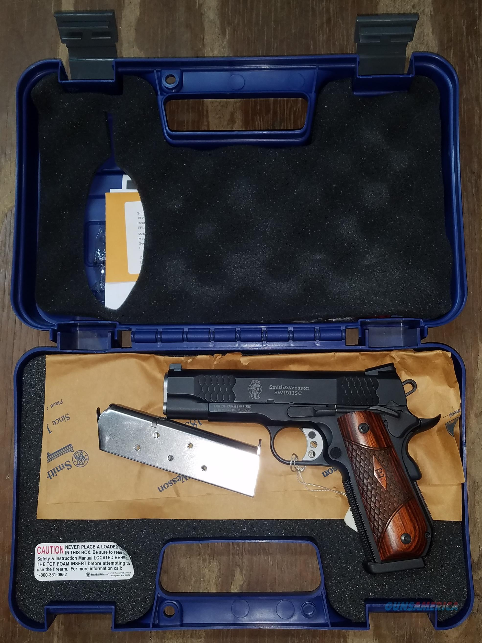 SMITH AND WESSON SW1911SC 45 ACP 108483  Guns > Pistols > Smith & Wesson Pistols - Autos > Alloy Frame