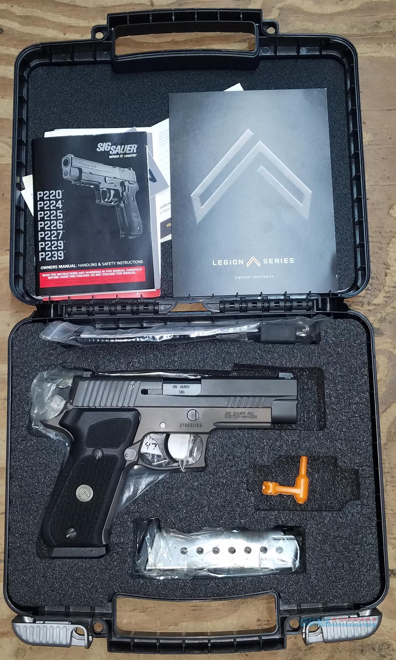 SIG Sauer P220 220R-45-LEGION Legion Full Size 45 ACP  Guns > Pistols > Sig - Sauer/Sigarms Pistols > P220