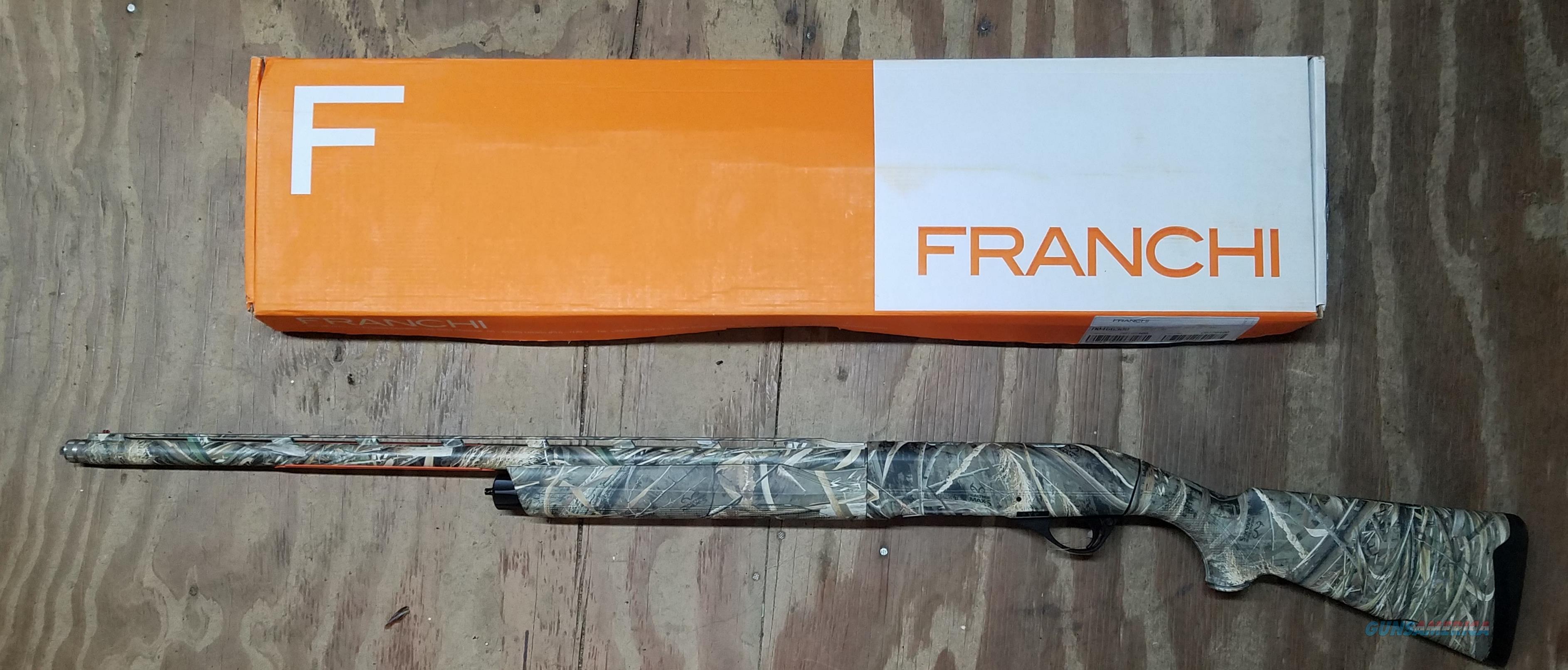 Franchi Intensity 12 Gauge Shotgun Real Tree Max 5 Camo 40937  Guns > Shotguns > Franchi Shotguns > Auto Pump > Hunting