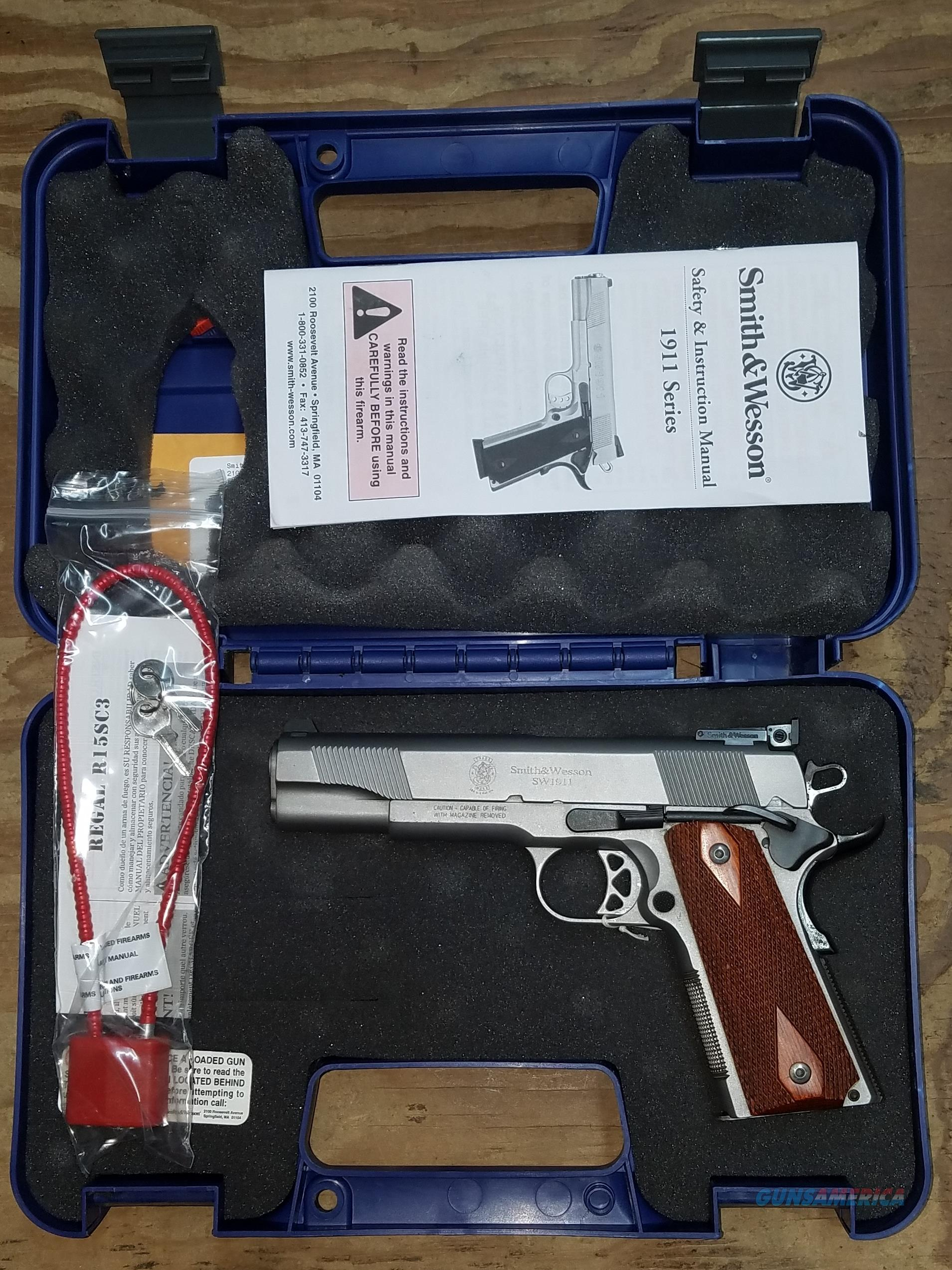 Smith & Wesson Model 1911 45 ACP JRK0535 108482  Guns > Pistols > Smith & Wesson Pistols - Autos > Steel Frame