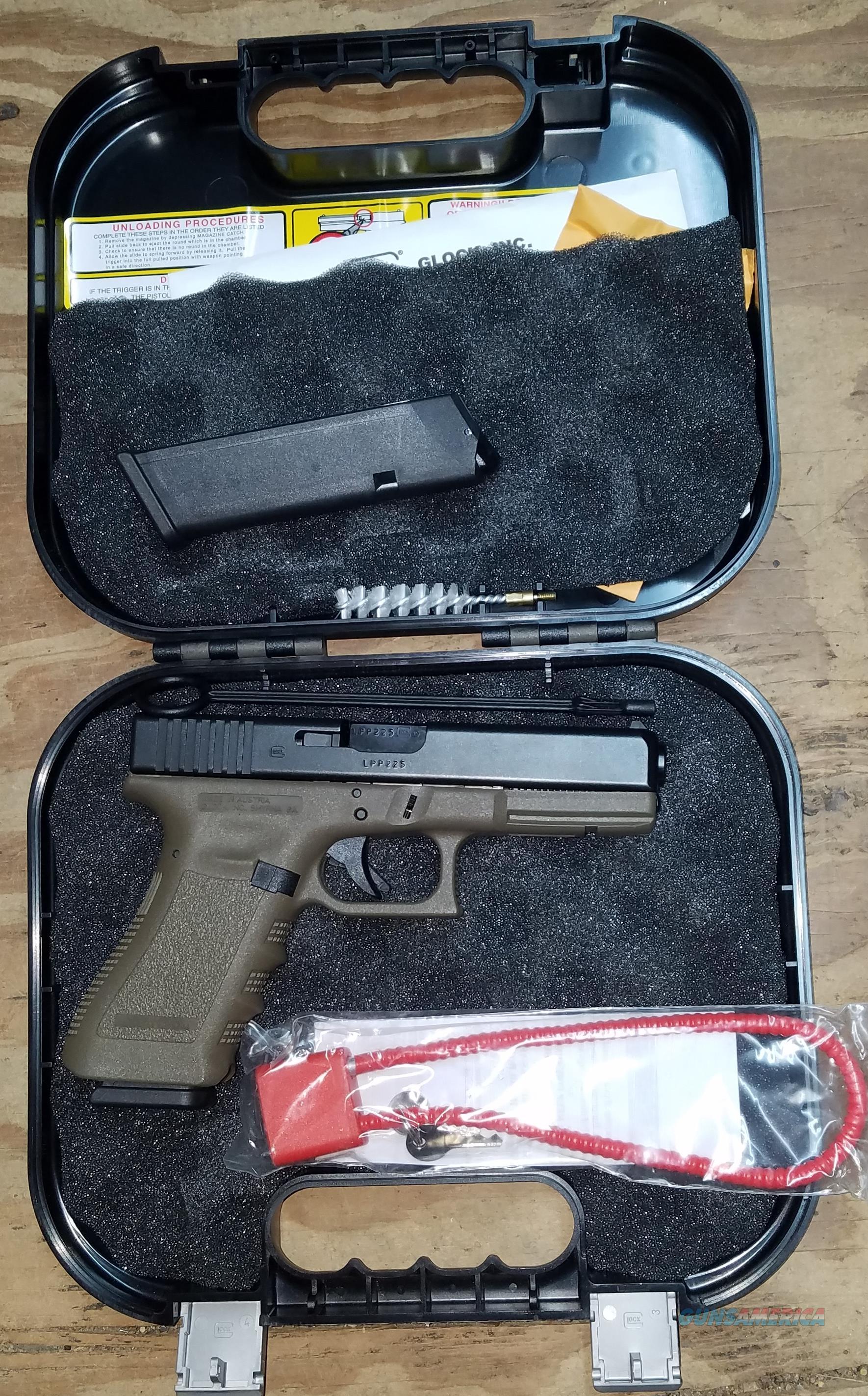Glock 37 P137572 Olive Drab Green 45 GAP Pistol  Guns > Pistols > Glock Pistols > 37