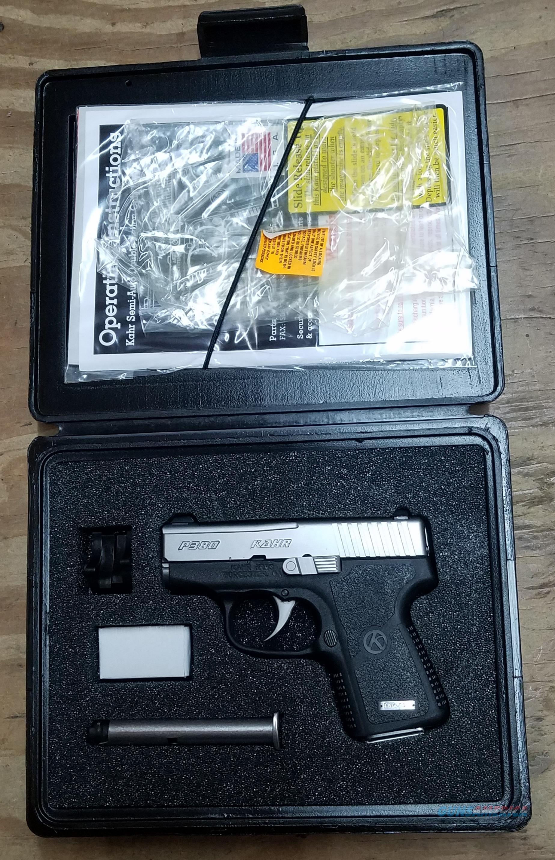 Kahr Arms P380 KP3833 .380ACP  Pistol  Guns > Pistols > Kahr Pistols
