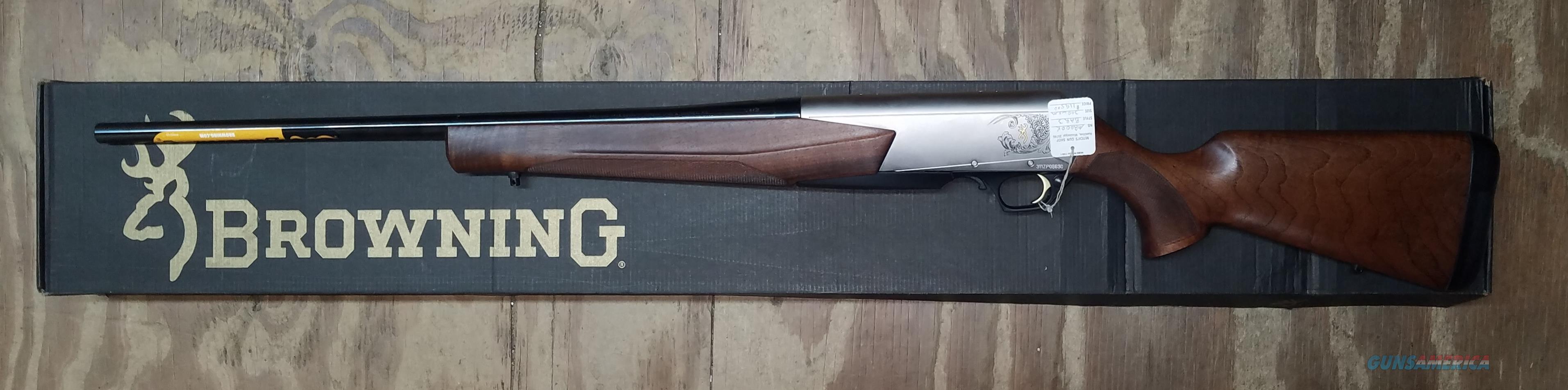 Browning 300 Bar Mark 3 WSM Semi-Auto Rifle 031047246  Guns > Rifles > Browning Rifles > Semi Auto > Hunting