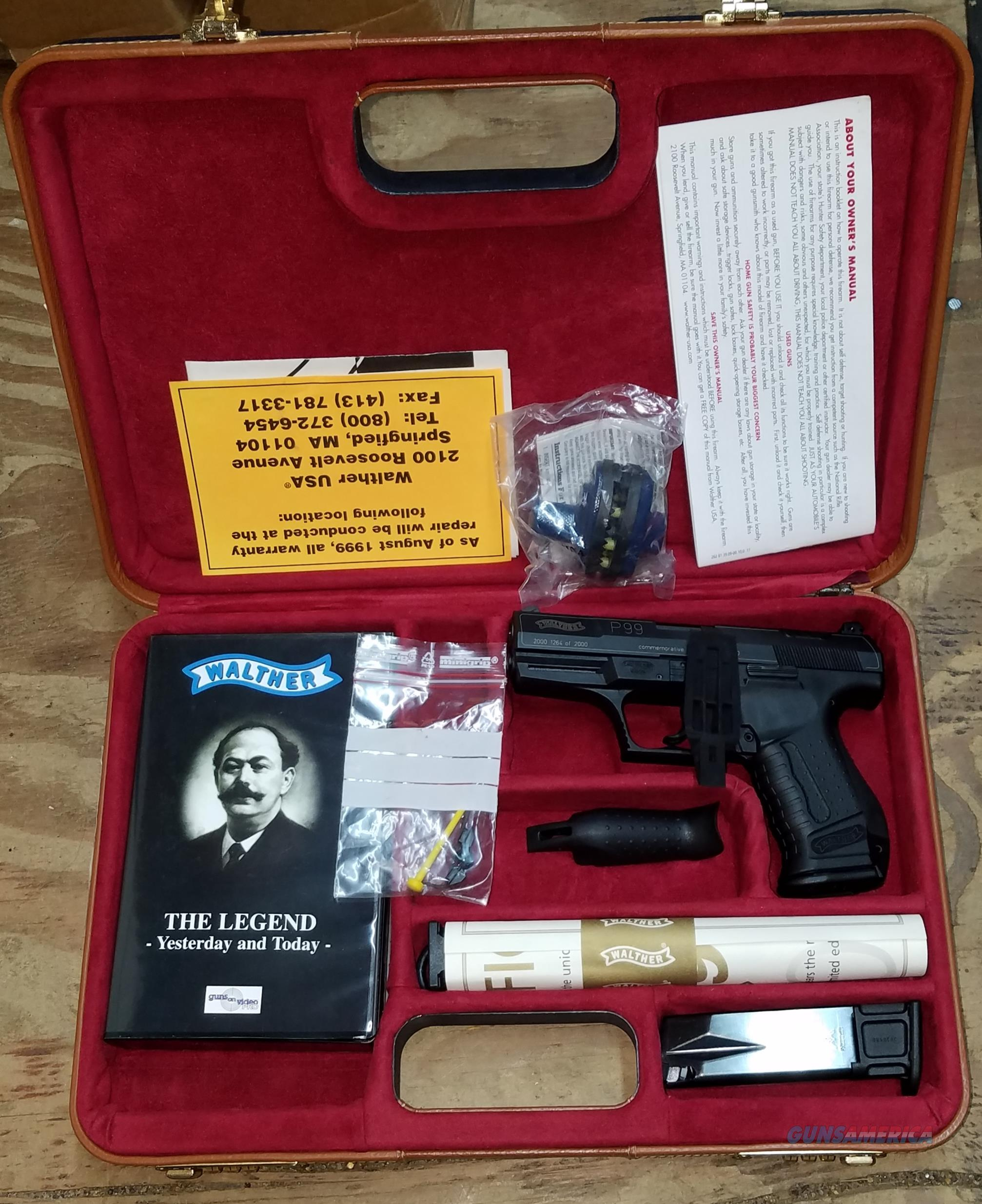 Walther Model P99 Commemorative Year 2000 9MM   Guns > Pistols > Walther Pistols > Post WWII > P99/PPQ