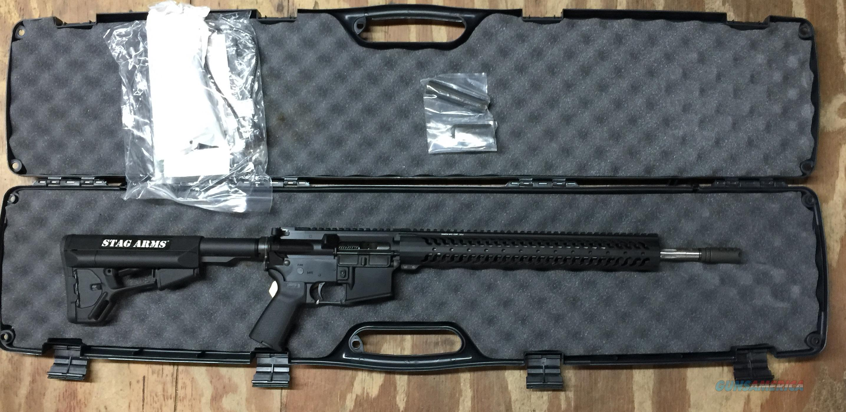 Stag Arms SA3G Stag-15 3G Competition Rifle 5.56mm  Guns > Rifles > Stag Arms > Complete Rifles