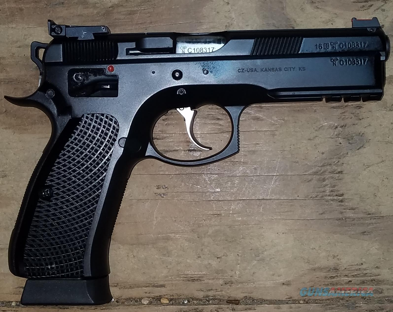CZ 75 sp-01 Shadow Target 2 9MM Black Handgun 91760  Guns > Pistols > CZ Pistols
