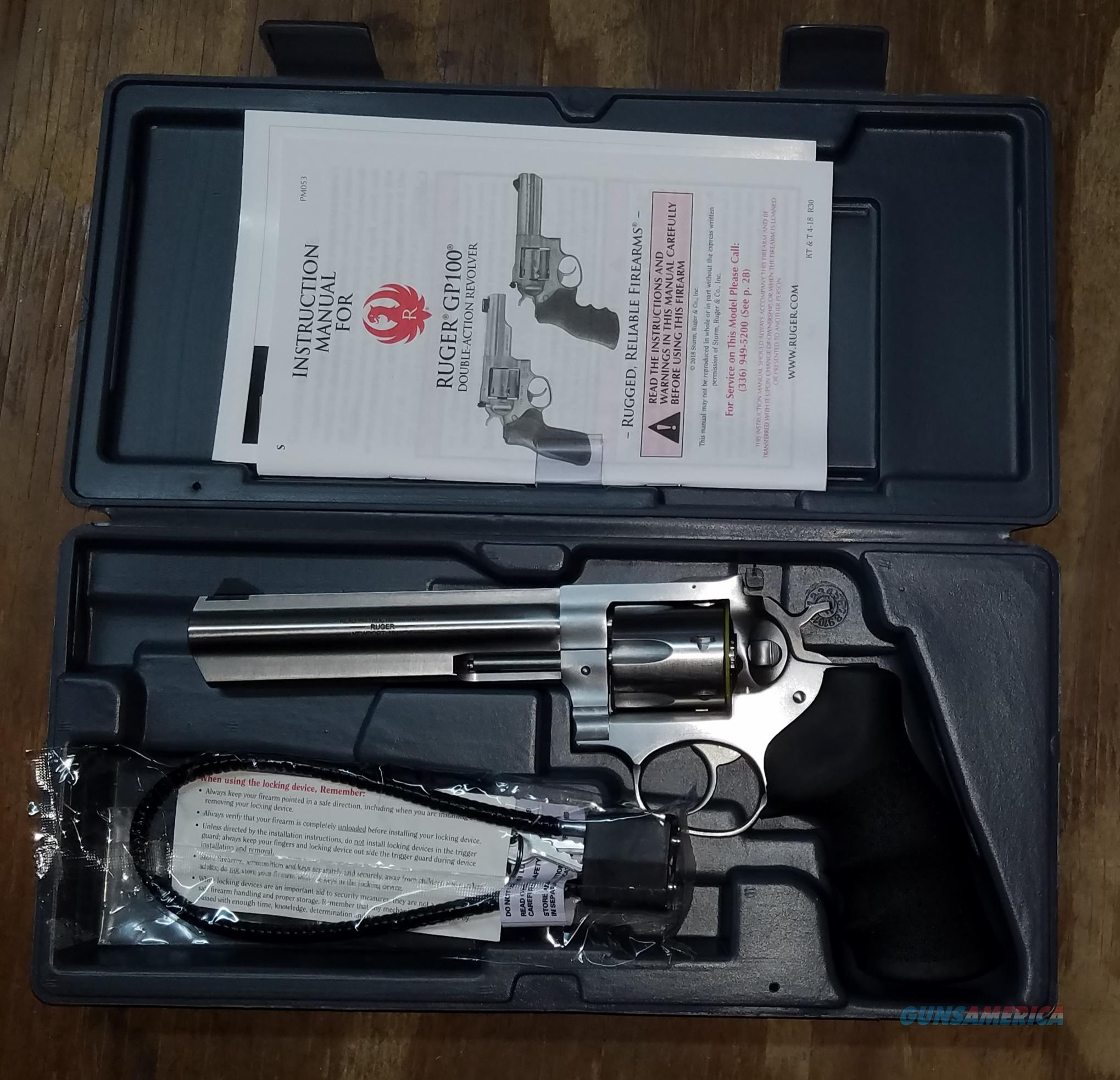 Ruger GP100 .357 Magnum Revolver Model 1707  Guns > Pistols > Ruger Double Action Revolver > GP100
