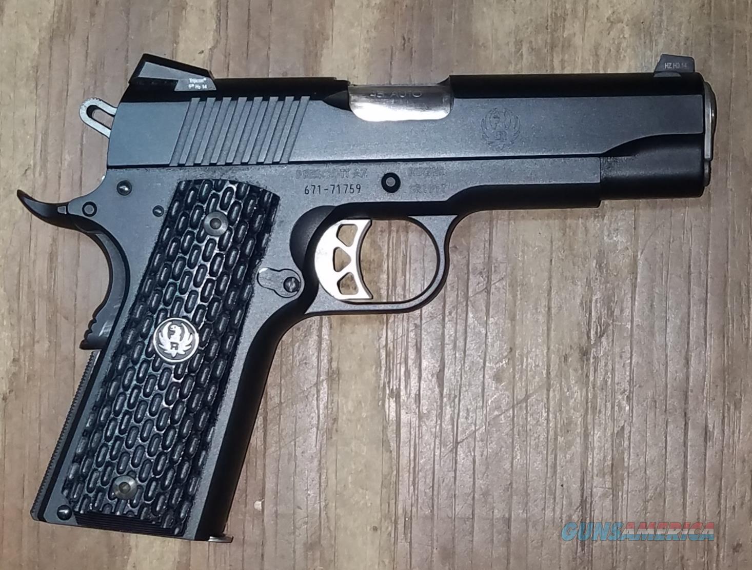 Ruger SR1911W Talo SR1911 45 ACP 6709  Guns > Pistols > Ruger Semi-Auto Pistols > 1911