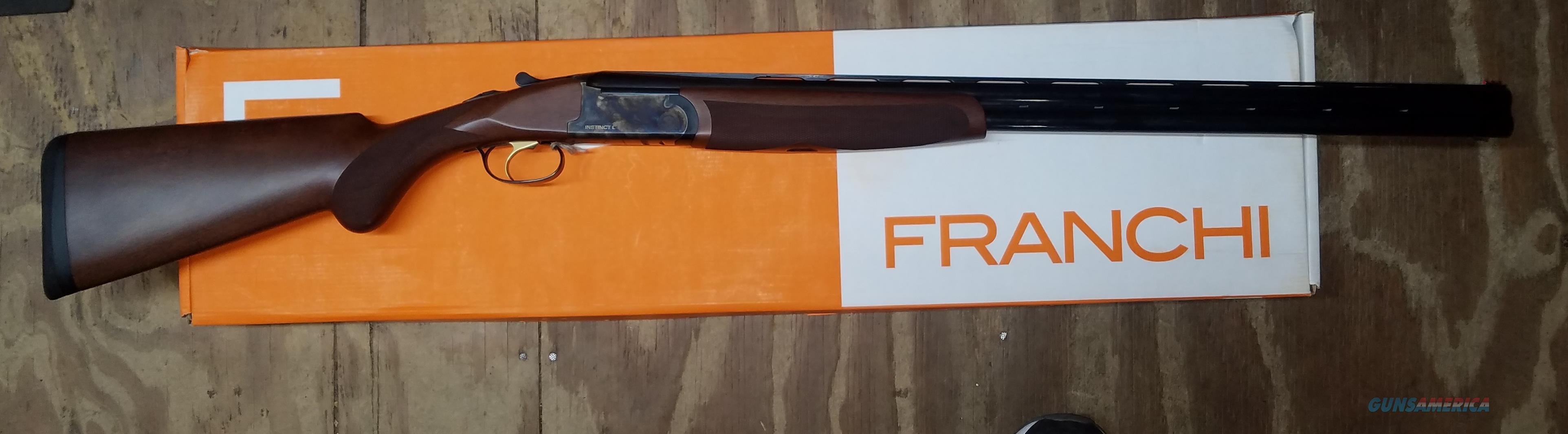 Franchi 40810 Instinct L Over and Under 20 Gauge Shotgun  Guns > Shotguns > Franchi Shotguns > Over/Under > Hunting