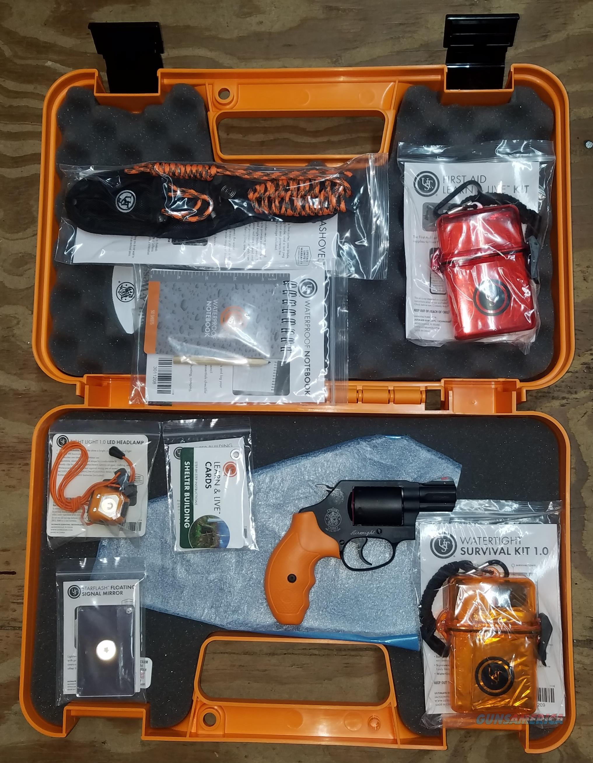 Smith & Wesson Survival Kit 357 magnum 12601  Guns > Pistols > Smith & Wesson Revolvers > Small Frame ( J )