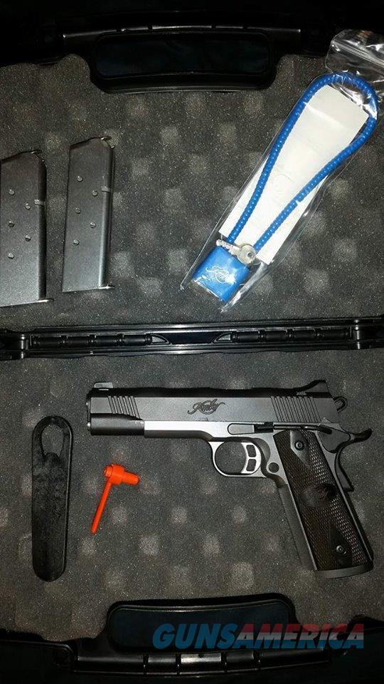 Kimber Tactical Custom II  Guns > Pistols > Kimber of America Pistols > 1911