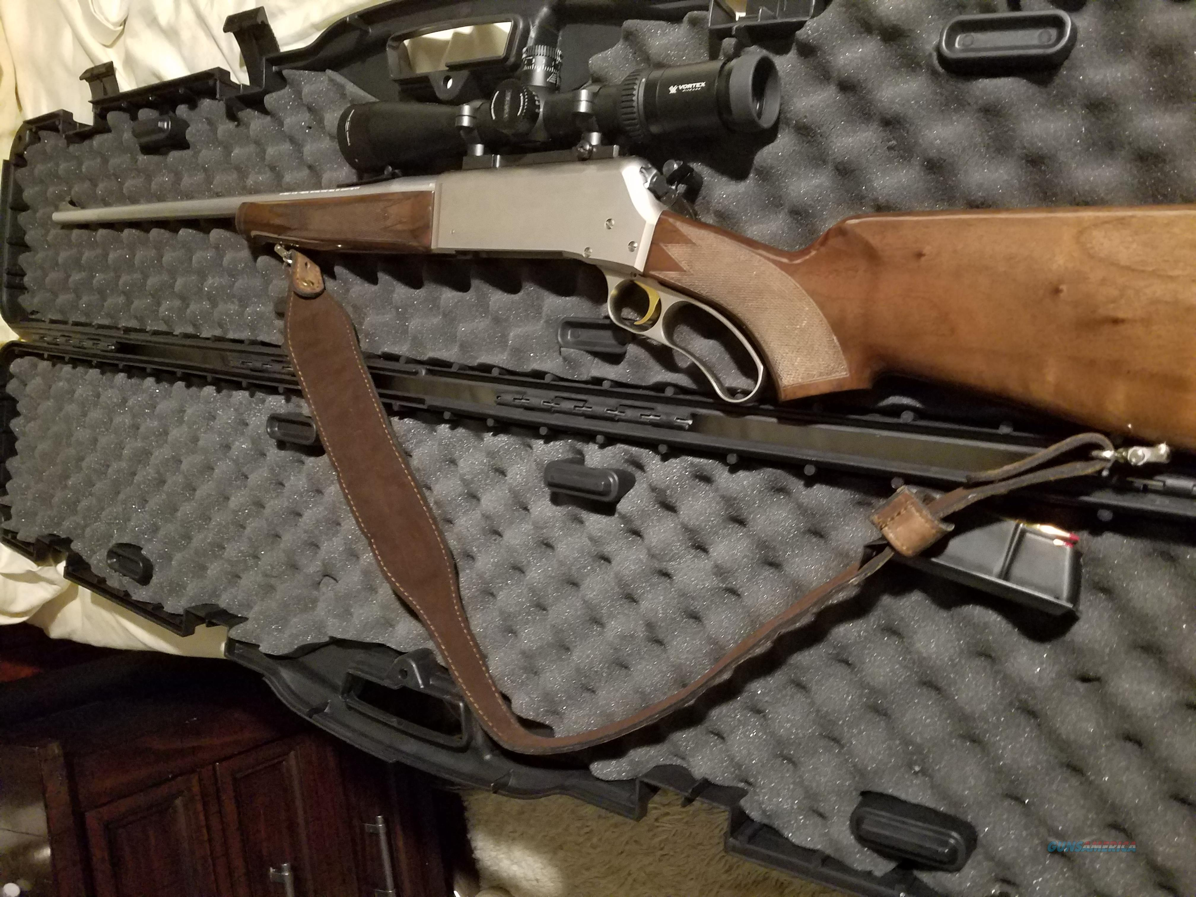 BROWNING BLR .300 WIN MAG SS with VORTEX VIPER HS   Guns > Rifles > Browning Rifles > Lever Action