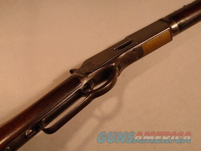 Winchester 1876 lever action rifle .45-60  Guns > Rifles > Winchester Rifles - Pre-1899 Lever