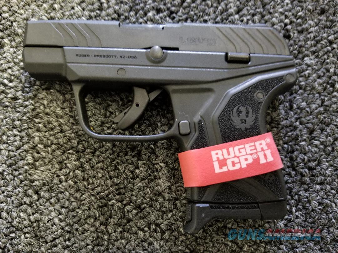 Ruger LCP II .380acp with one 6rd mag 03750 NO CC FEES!!!  Guns > Pistols > Ruger Semi-Auto Pistols > LCP