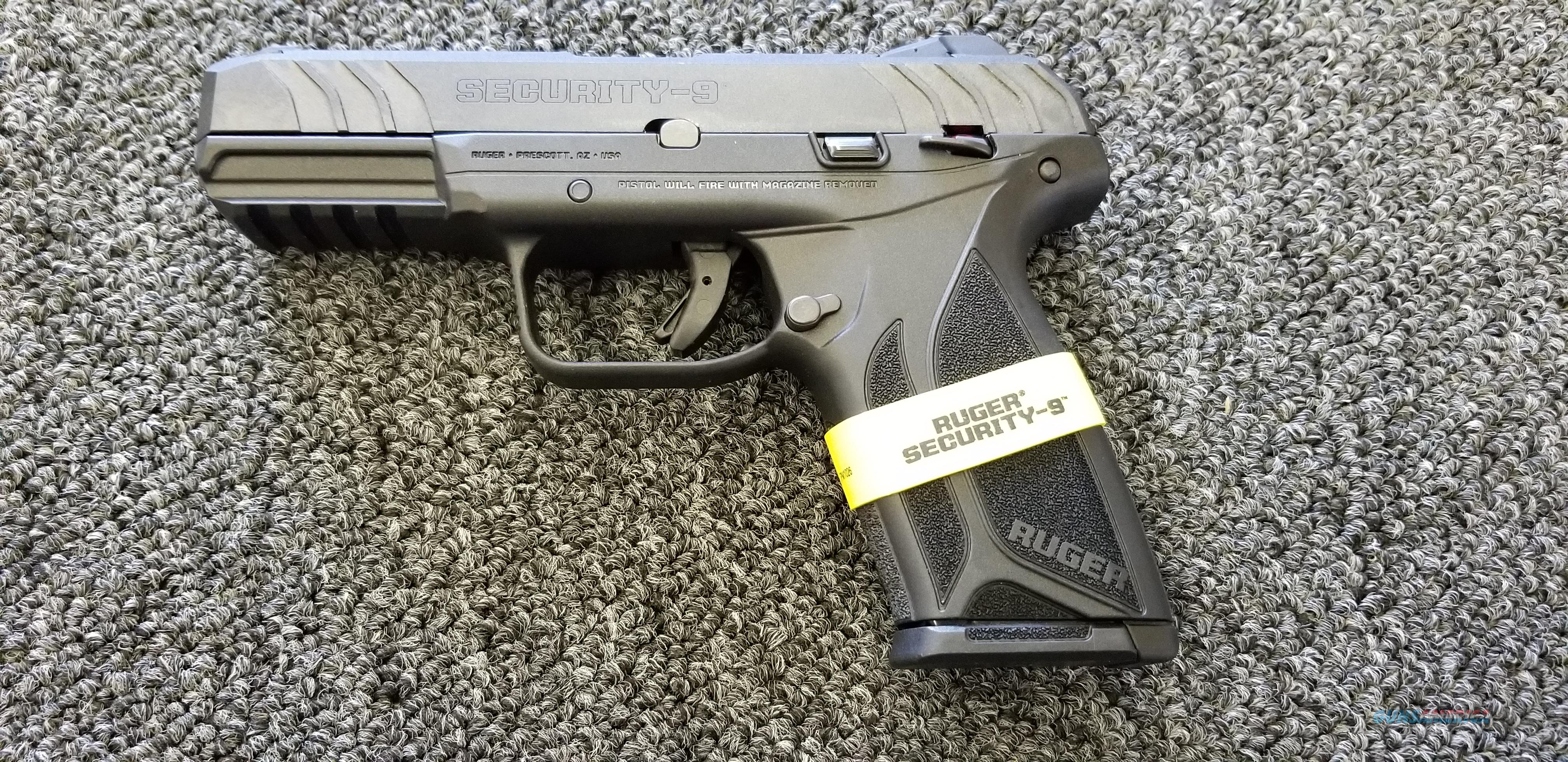 ruger security 9 w  two 15 rd mags new model       for sale