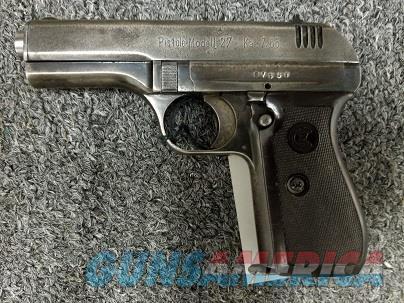 CZ 27 .32acp  Guns > Pistols > CZ Pistols