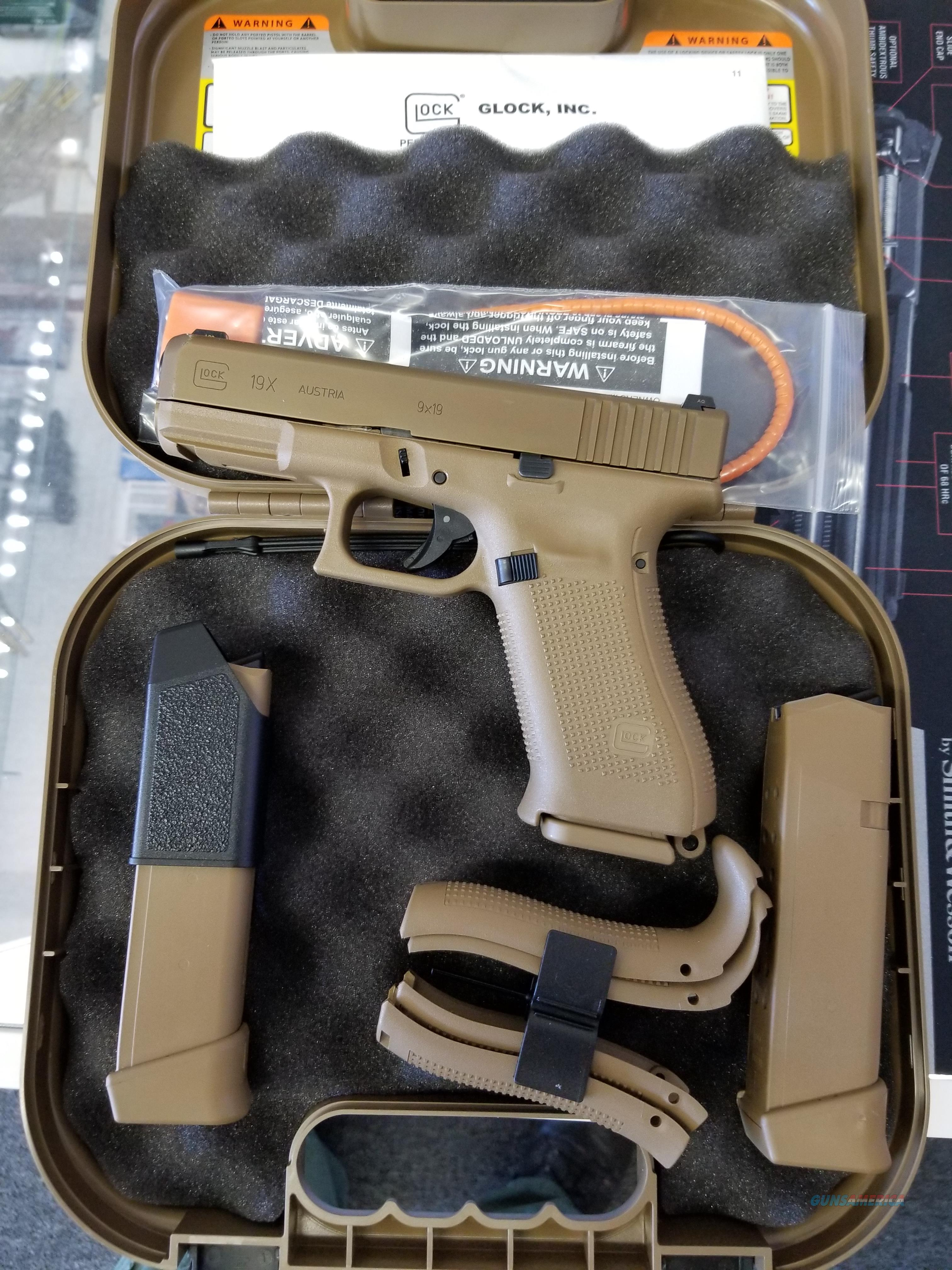 Ideal Auto Sales >> Glock 19X (Night Sights) it is inStock NOW No C... for sale