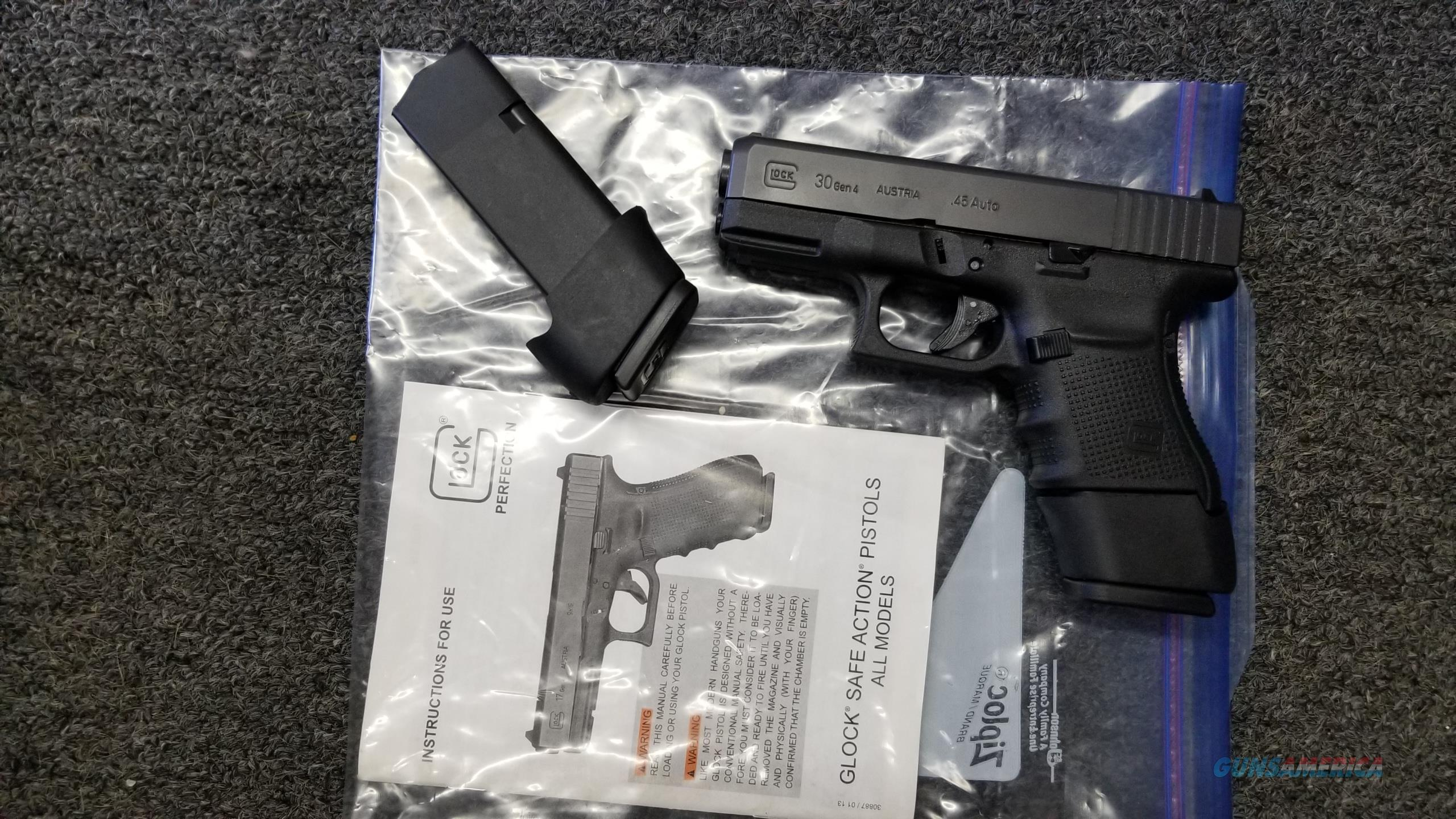 Glock 30 with 2 13rd magazines  Guns > Pistols > Glock Pistols > 29/30/36
