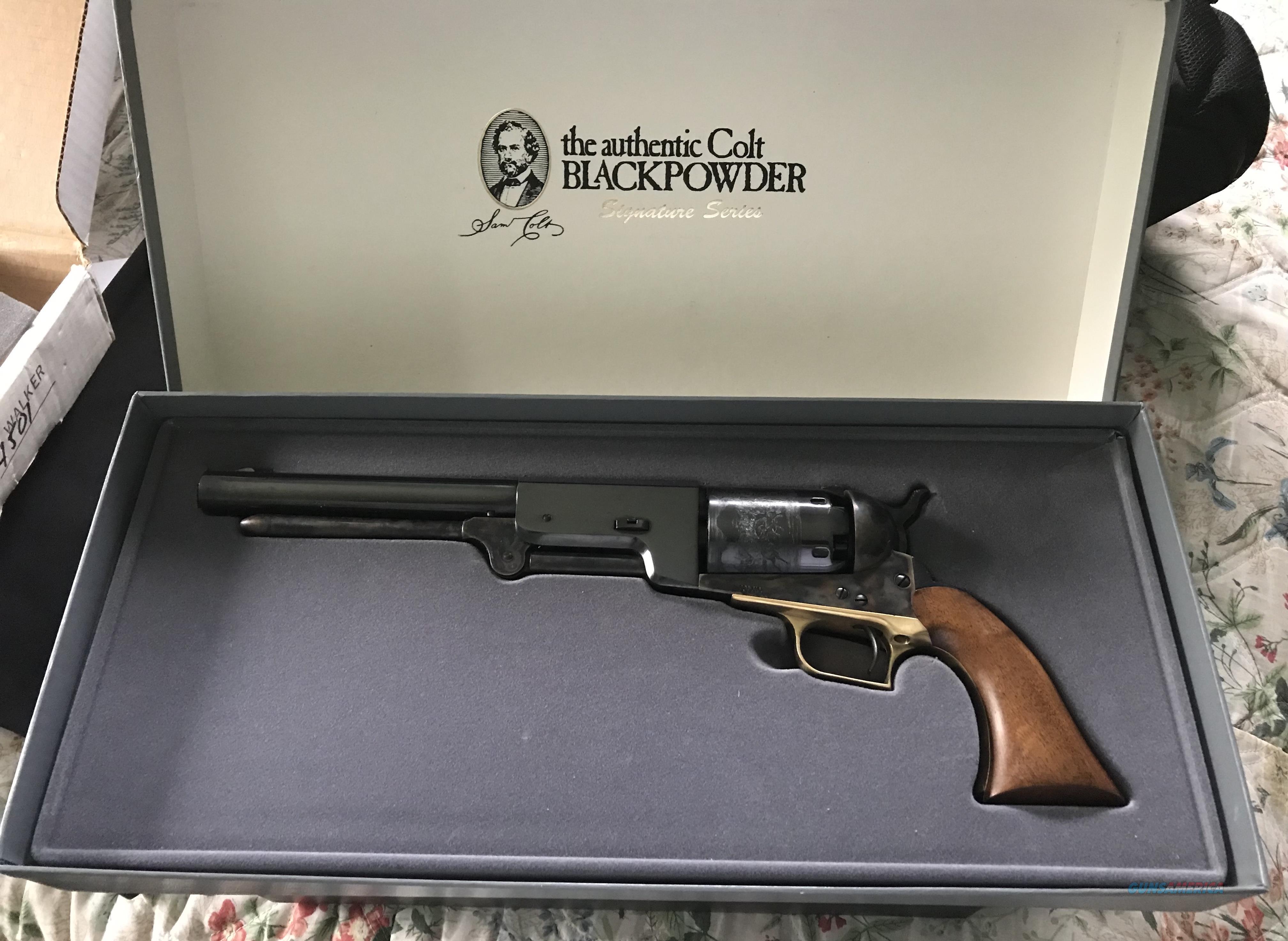 Colt Walker  Guns > Pistols > Colt Percussion Revolver - Modern