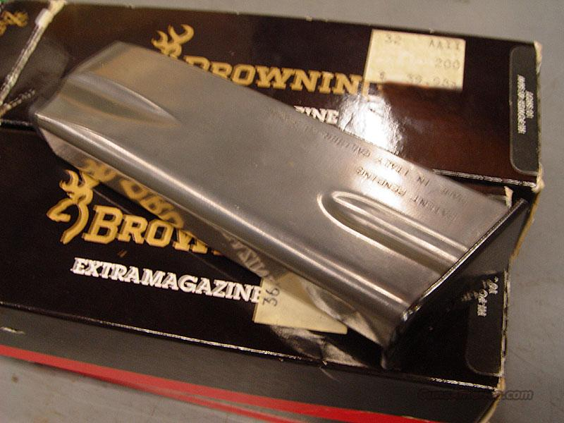 BROWNING Hi-Power 40 S&W 10 shot round Magazine + shipping NOS NEW!  Non-Guns > Magazines & Clips > Pistol Magazines > Other