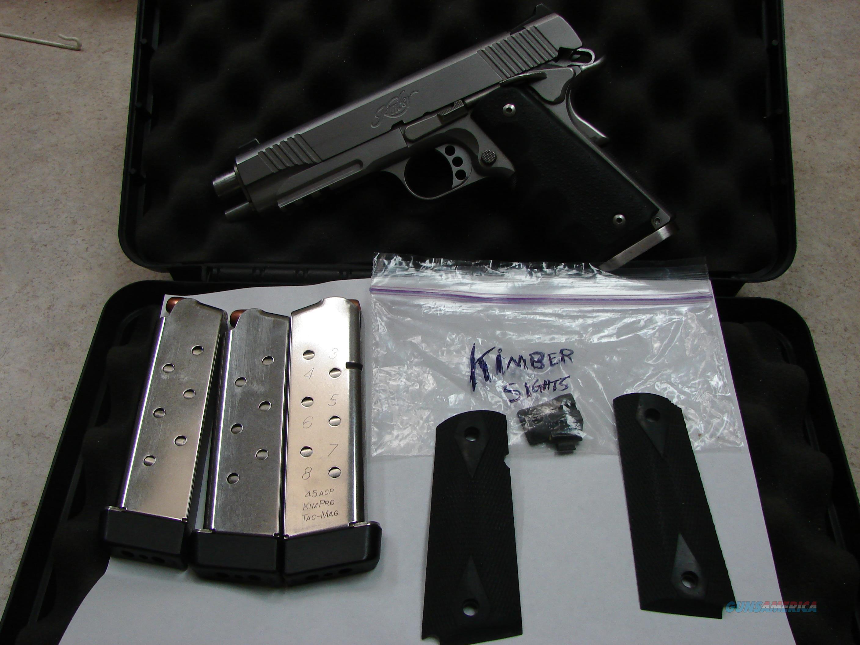 Kimber TLE / RL II Stainless .45   Guns > Pistols > Kimber of America Pistols > 1911