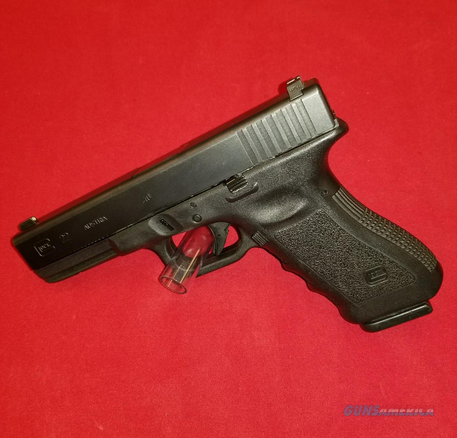 GLOCK 22 LAW ENFORCEMENT TRADE-IN 22 40SW GEN3 1 15RD USED G22 GEN3  Guns > Pistols > Glock Pistols > 22