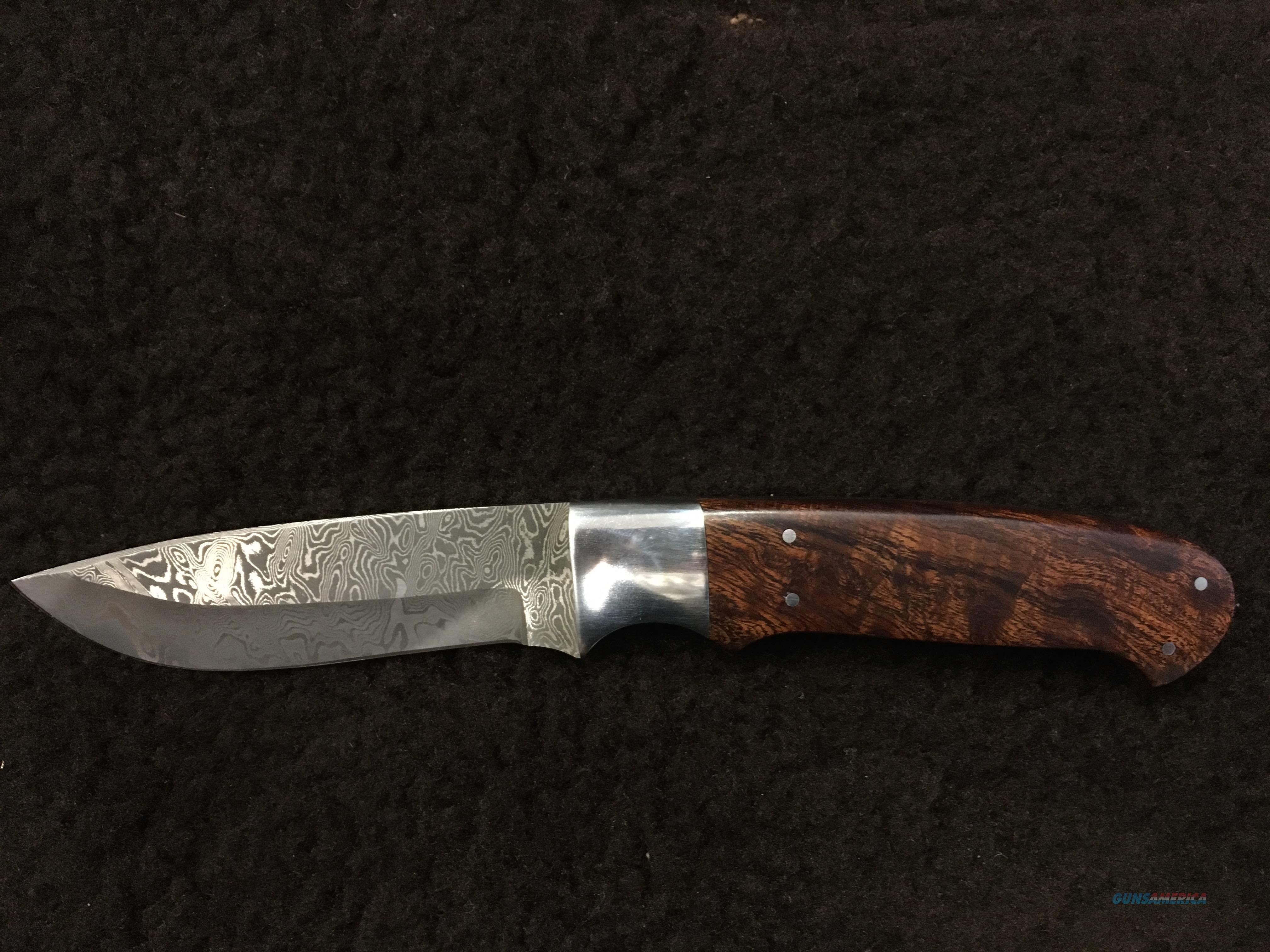 Long Cape Buffalo Hunter Stainless Steel Damascus Knife  Non-Guns > Knives/Swords > Knives > Fixed Blade > Hand Made