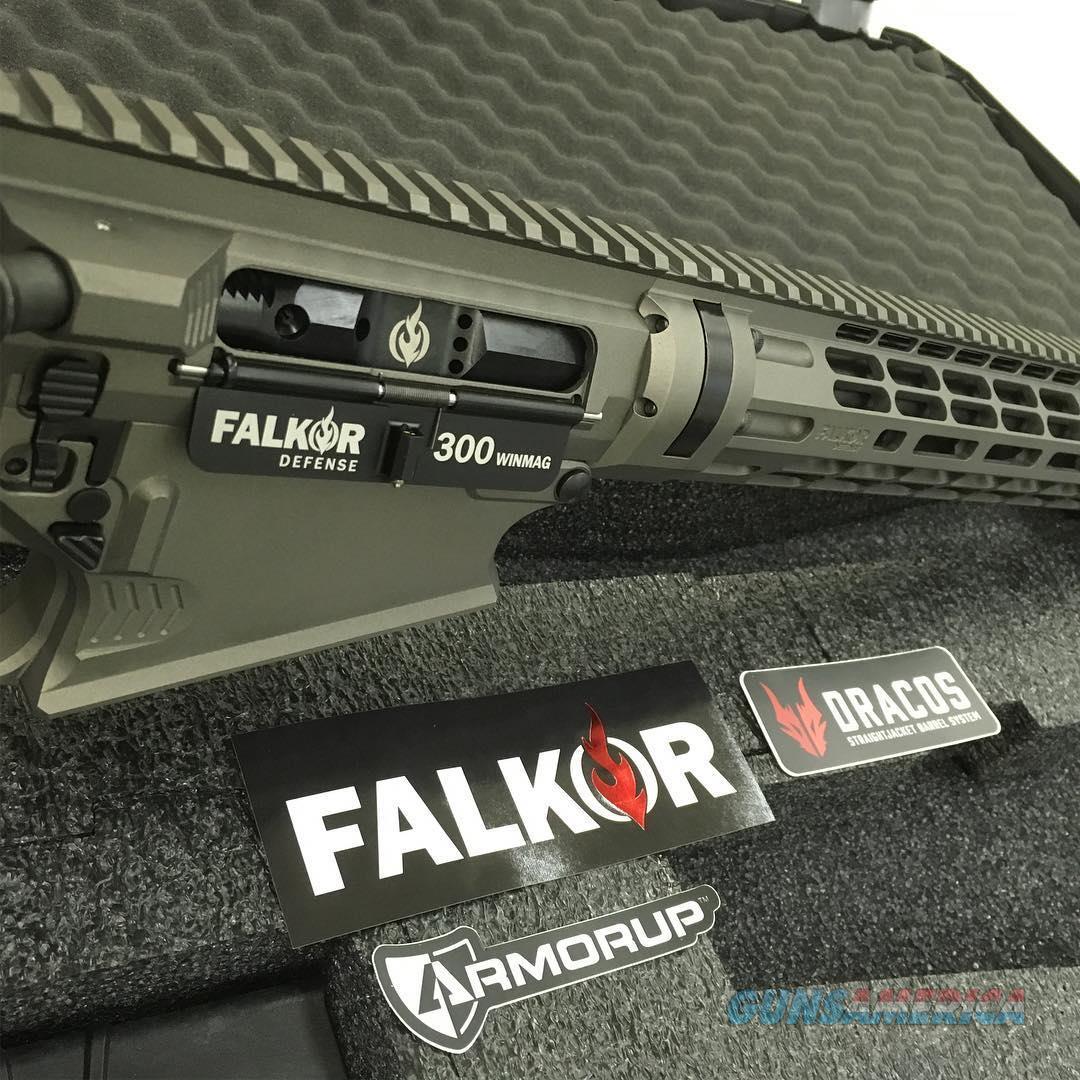 "Falkor Defense Petra .300WM 22"" DRACOS BBL Gray Cerakote  Guns > Rifles > F Misc Rifles"